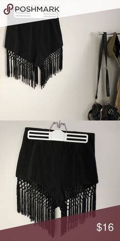 Festival shorts Fun flirty festival shorts! Fit is a size Small/Medium. Love these shorts but too big on me. Bought of Depop. Feel free to ask questions. *smoke free home* Shorts