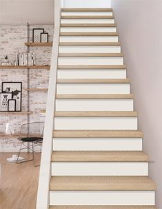 r novation d 39 escalier en sisal style scandinave escaliers et maniere. Black Bedroom Furniture Sets. Home Design Ideas