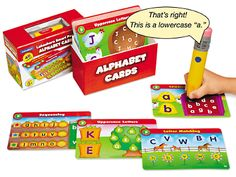 Alphabet Smart Pencil Interactive Learning Cards at Lakeshore Learning  29.99