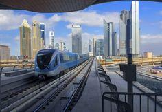 """Subway trains from around the world - Dubai's 'gold class"""" subway pass"""