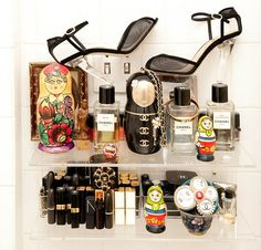 Gorgeous beauty products, beautifully displayed