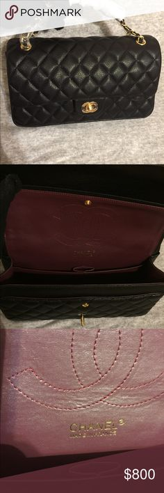 Chanel Black CHANEL Bags Shoulder Bags