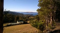 View above Woodbridge of the Entrecasteaux Channel