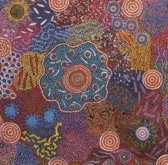 Aboriginal Art Dot Painting, Aboriginal Artists, Artist Painting, Encaustic Painting, Rock Painting, Indigenous Australian Art, Indigenous Art, Modern Art Paintings, Contemporary Artwork