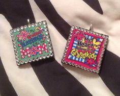 Greatest blessing Mom or Grandma Pendants by sassygirlsx3 on Etsy, $9.95