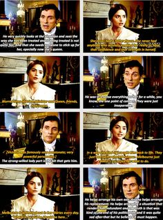 Rufus and Jenna discuss the Queen's relationship with Lord Melbourne. From the DVD Extras. Queen Victoria Tv Show, Victoria Pbs, Victoria Series, Melbourne Victoria, Victoria And Albert, Rufus Sewell, Tv Couples, Jenna Coleman, Prince Albert