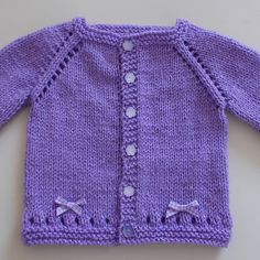 Ravelry: Maxine Baby Cardigan Jacket pattern by marianna mel