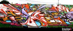 Artista: Pose Graffiti, aerosol. Adición