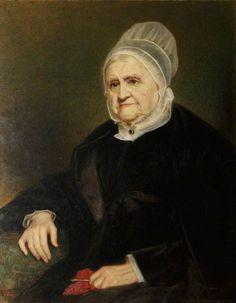 Ann Fell (1783–1871), Mrs William Miller Christy, in Quaker Dress    Jerry Barrett (1824–1906)    National Trust, Dudmaston