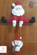 Cris Silva - do it yourself Christmas Crafts To Sell, Felt Christmas Decorations, Christmas Candles, Christmas Centerpieces, Christmas Diy, Christmas Ornaments, Holiday Decor, Very Merry Christmas, Simple Christmas