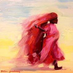 Oil Sketch l oil on panel l 12x12 l www.katiejacobsonart.com #painting #oilpainting #figurepainting