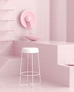 To celebrate the launch of their new stools, Melbourne-based Dowel Jones collaborated with Tom Hancocks, a 3D artist and designer based in New York City.