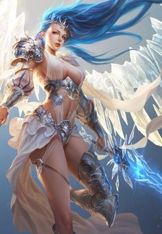 league of angels- glacia angel of winter