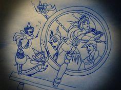 Disney Tattoo Design #2 by IcyRose13.deviantart.com on @deviantART