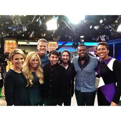 kolusola:  What an honor to have performed on @goodmorningamerica today! The hosts are amazing!