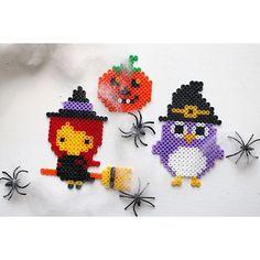 Halloween hama beads by diysweden                                                                                                                                                                                 More