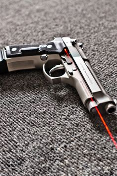 Beretta 92 with Crimson Trace Grips