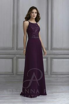 f061a1273100 Adriana Papell 40124 in amethyst Bridesmaid Dresses, Prom Dresses, Formal  Dresses, Wedding Dresses