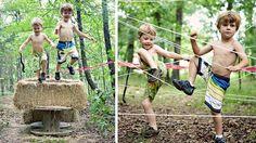 parcours du combattant jeu enfant Outdoor Education, Baby Party, Playground, Activities For Kids, Have Fun, Children, Centre, Arts, Stage