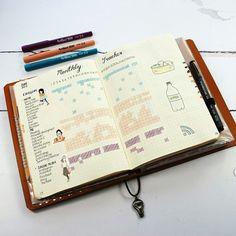 My June Tracker #bulletjournal #bujo #planner