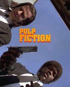 Tarantino Pulp Fiction, Quentin Tarantino Films, Old Movie Posters, Film Posters, Top Film, John Travolta, Great Films, Old Movies, Movies Showing