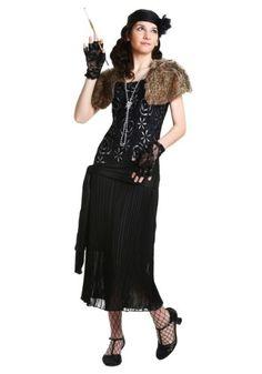 e3fb82fddec Charleston Flapper Costume in Women s Plus Size 1X 2X 3X 4X
