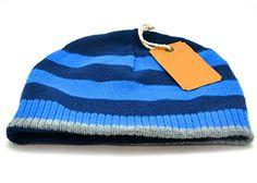873b1c353e9 Urban Pipeline Blue Striped Reversible Beanie Winter Hat for Men Urban  Pipeline http