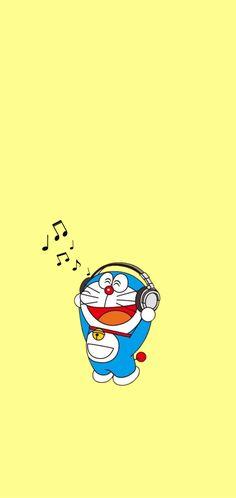 Cartoon Wallpaper Iphone, Cute Cartoon Wallpapers, Kawaii Wallpaper, Screen Wallpaper, Wallpaper Backgrounds, Wallpaper Lockscreen, Pretty Wallpapers Tumblr, Doraemon Stand By Me, Doraemon Cartoon