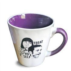 Treat Yo Self Mug by PeachyApricot on Etsy