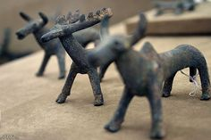Little ancient toys by mamzi, via Flickr. 3000 years old, Persia.