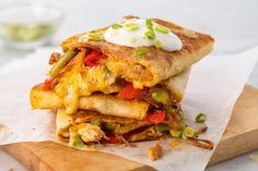 Chicken QuesadillaDelish