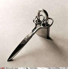 How to keep your scissors safe... from the family!
