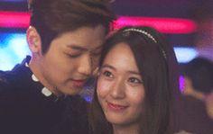 Krystal & Kang Min Hyuk (Lee Bo Na & Yoon Chan Young) - Heirs. My favorite couple