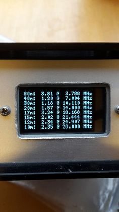 HiIn this Instructable I'll show you how I built a low-cost antenna analyser which can measure an antenna and display its VSWR over any or all of the HF frequency...