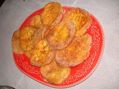 Great hearty and delicious way to start your day, Portuguese French toast, known as Rabanadas.
