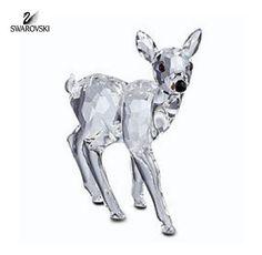 Swarovski Crystal Figurine FAWN Doe BABY DEER #235045 Perfect