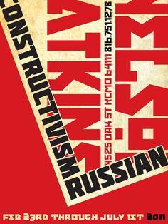 Russian Constructivism on Behance