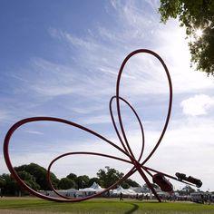 Alpha Romeo Centenary Sculpture by Gerry Judah