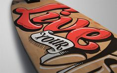hand lettering on objects by Argentinian artist Penco Sassano | typography branding creative inspiration