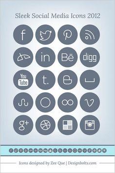 // social media icons