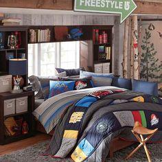 burton pinnacle patch quilt sham pbteen bedroom furniture cb2 peg