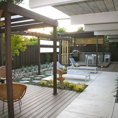 landscape mid century modern garden design pictures remodel decor and ideas