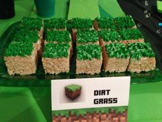 Minecraft Dirt Grass Sign Tent