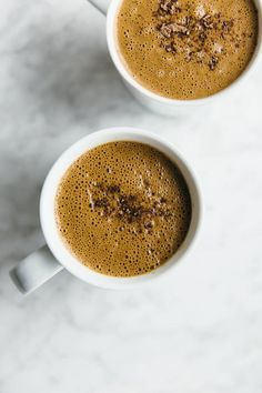 Sexy superfood hot chocolate. Dairy-free, paleo and vegan.