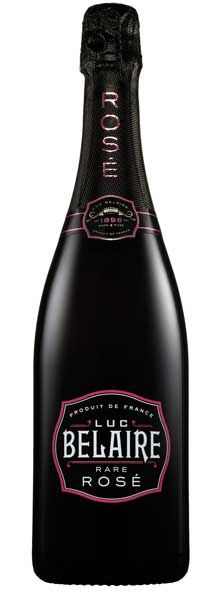 Luc Belaire Sparkling Rosé: This exquisite sparkling wine imbues a delightful effervescence, resulting in a deep-red sparkling rosé with aromas of strawberry, blackcurrant and a sweet - but not too sweet - nuance, resulting in a perfect balance of aroma, taste, body, and finish. Try as an aperitif, paired with a wide variety of dishes or in a sparkling cocktail. – Winemaker's Notes