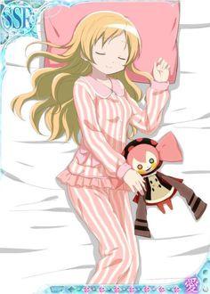 New Madoka Magica bedtime theme official art.