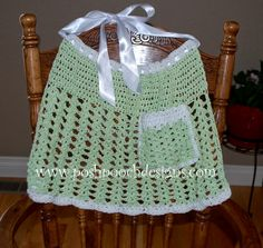 Posh Pooch Designs Dog Clothes: Easy Meatloaf and A Free Crochet  Apron Pattern