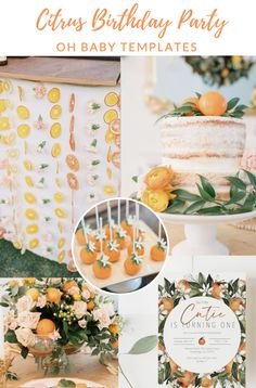 This summer themed baby shower invitation is a must have for your girl baby shower or boy baby shower! Featuring oranges and watercolor greenery. Peach Bridal Showers, Peach Baby Shower, Baby Shower Host, Baby Girl Shower Themes, Bridal Shower Party, Bridal Shower Invitations, Party Invitations, Invitation Cards, Baby Girl 1st Birthday