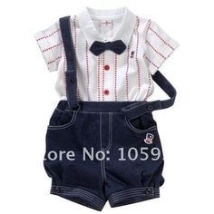 Tops shorts Bow tie Wedding suits Gentleman baby boy kids clothes sets bib shortall for kids toddler boys dungarees Salopette Superman Baby, Baby Clothes Brands, Cute Baby Clothes, Baby Outfits, Baby Boy Formal Wear, Kids Overalls, Romper Pants, Kind Mode, Baby Wearing