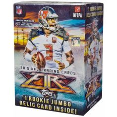 c315540837b 2015 Topps Fire Football 7ct Blaster Box -- You can find out more details at